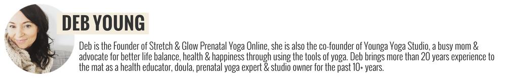 Deb Young Prenatal Yoga Expert