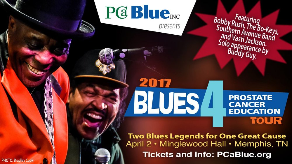 Blues 4 Prostate Cancer Education Tour