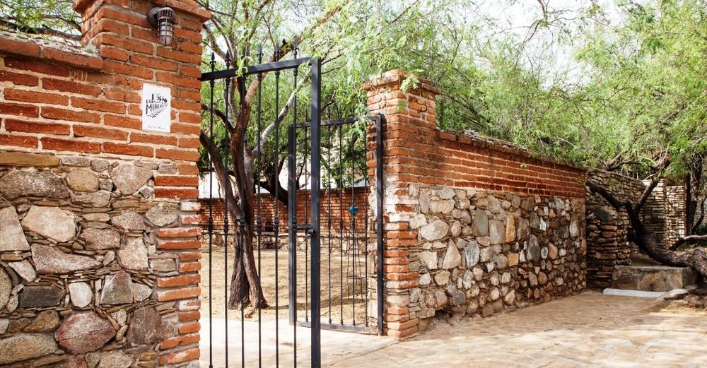 En el centro histórico de El Triunfo