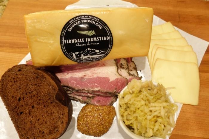 nationalpastramiday-ruben Sandwich