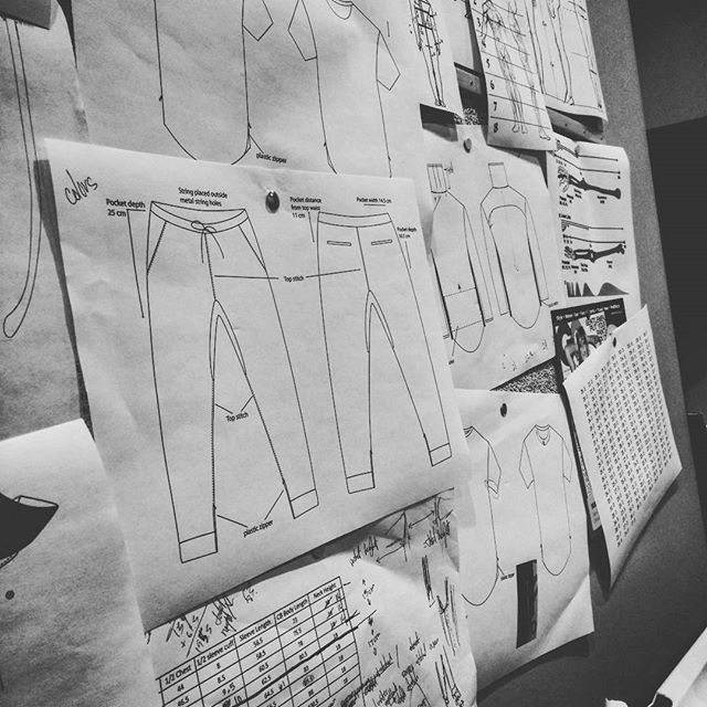 And it starts with some preview action..... #rot10 #cutandsew #tech #fashion #comebacktour #preview