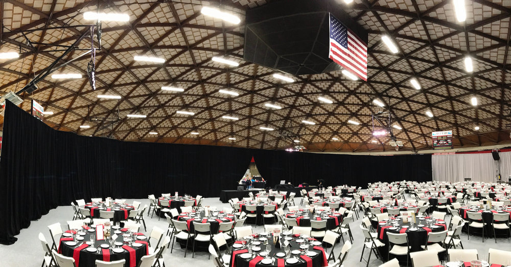 Mt. Hood Community College Black Room wrap