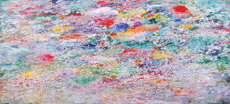 "Paul Fournier     "" Reef Shallows - Silver"", 2008"