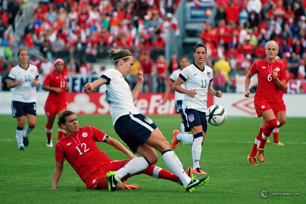 Christine Sinclair vs USA WNT