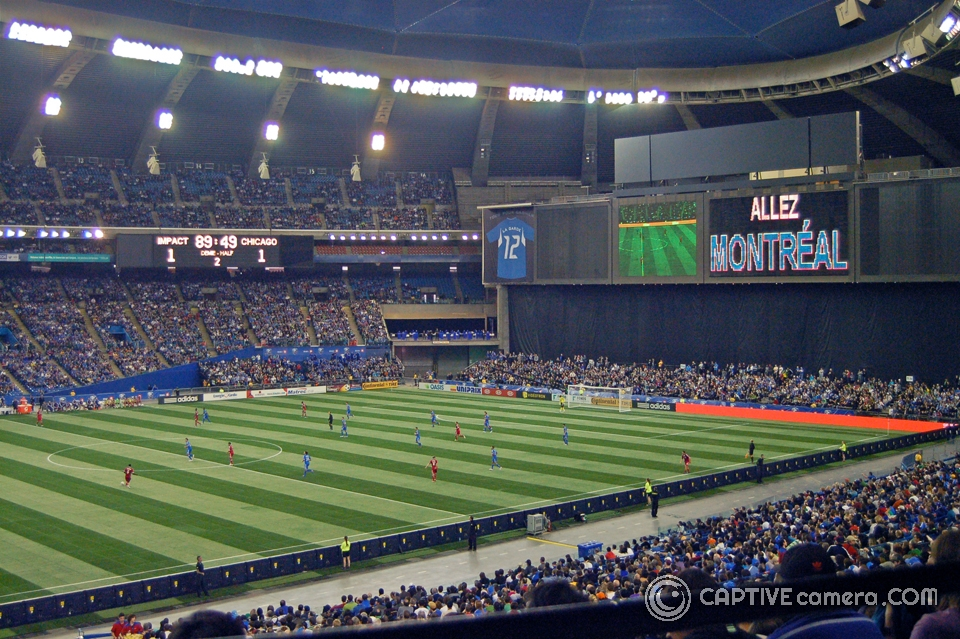 Montreal Impact joined Major League Soccer in 2012. Over 80,000 fans attended the historic home opener at Olympic Stadium.
