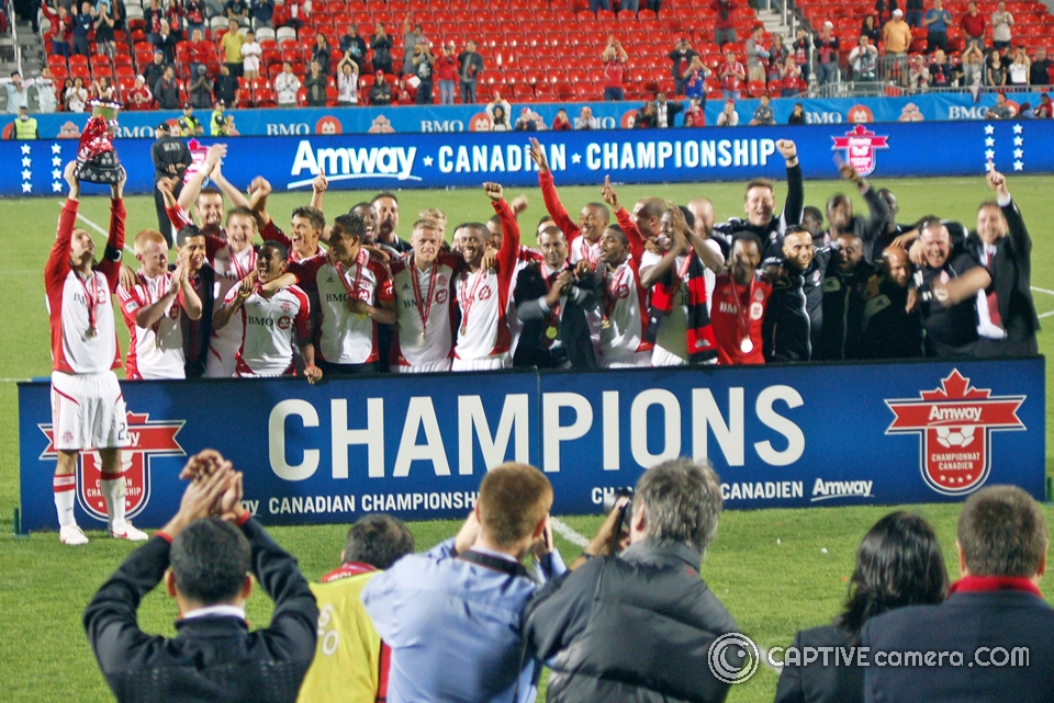 Toronto FC win 2013 CONCACAF Champions League