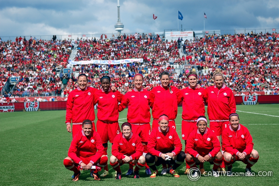 Canadian Women's National Soccer Team