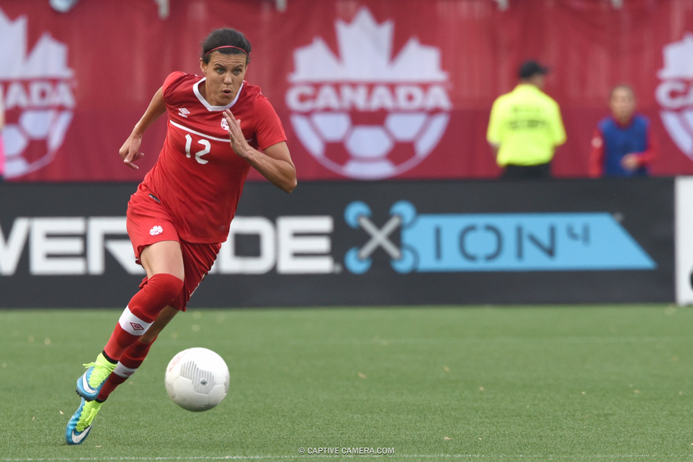 Captain Christine Sinclair