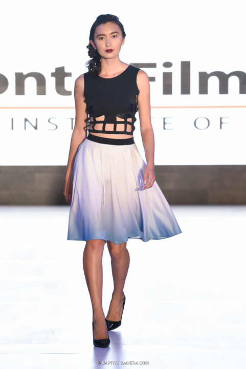 Sept. 9, 2015 (Toronto, ON) - Downtown Yonge BIA presents Fashion On Yonge, featuring designs by local retailers, Toronto Film School and TOM FW.