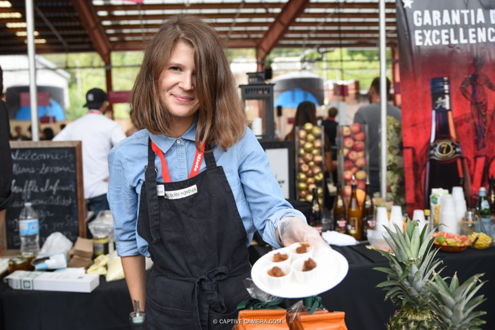 Sept 19, 2015 (Toronto, ON) - Vendor at Toronto Food and Wine Festival.