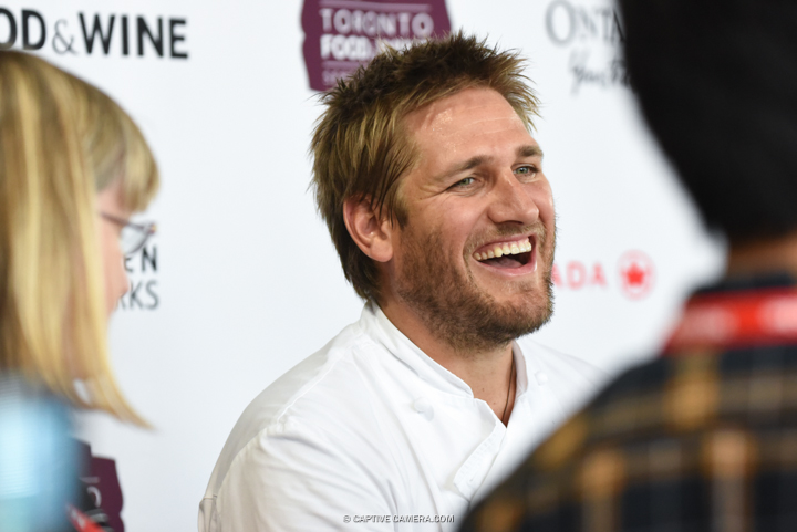 Sept 19, 2015 (Toronto, ON) - Curtis Stone at Toronto Food and Wine Festival.
