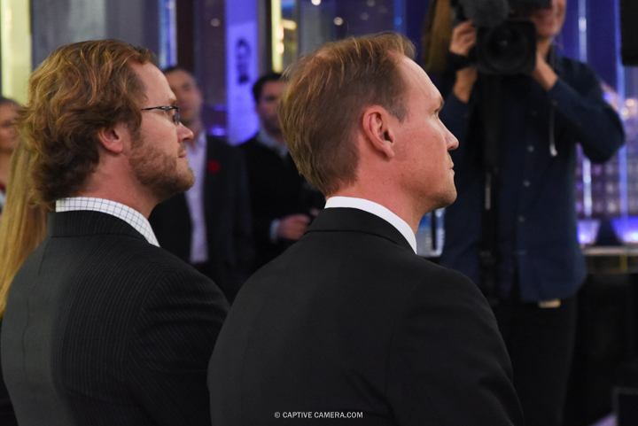 Nov. 6, 2015 (Toronto, ON) - Chris Pronger and Niklas Lidstrom at the Hockey Hall of Fame induction ceremony.