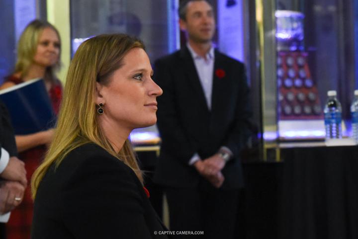 Nov. 6, 2015 (Toronto, ON) - Angela Ruggiero at the Hockey Hall of Fame induction ceremony.