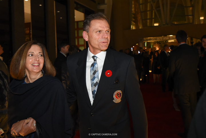 Nov. 9, 2015 (Toronto, ON) - Former NHL player Peter Stastny on the red carpet to the Hockey Hall of Fame induction ceremony at Brookfield Place, downtown Toronto.