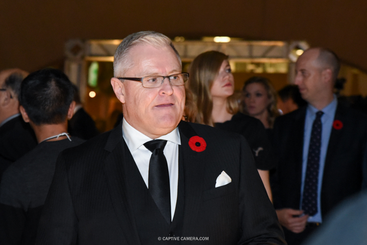 Nov. 9, 2015 (Toronto, ON) - NHL commentator Bob Mckenzie on the red carpet to the Hockey Hall of Fame induction ceremony at Brookfield Place, downtown Toronto.