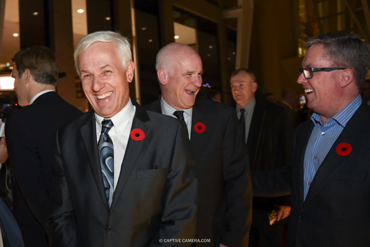 Nov. 9, 2015 (Toronto, ON) - Former NHL player Guy Carbonneu on the red carpet to the Hockey Hall of Fame induction ceremony at Brookfield Place, downtown Toronto.