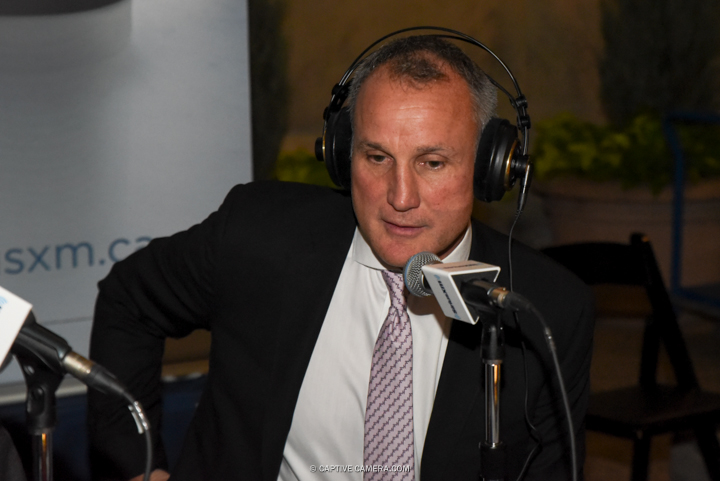 Nov. 9, 2015 (Toronto, ON) - Former NHL player Paul Coffey interviewed on the red carpet to the Hockey Hall of Fame induction ceremony at Brookfield Place, downtown Toronto.