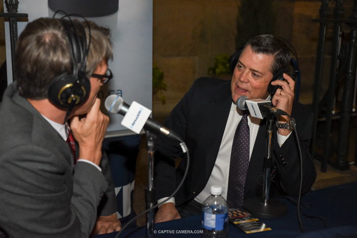 Nov. 9, 2015 (Toronto, ON) - Former NHL player Pat LaFontaine interviewed on the red carpet to the Hockey Hall of Fame induction ceremony at Brookfield Place, downtown Toronto.