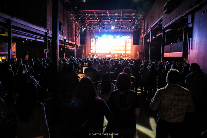 Nov. 21, 2015 (Toronto, ON) - Wide shot of crowd and Venezuelan duo Chino & Nacho during their performance at Sound Academy.