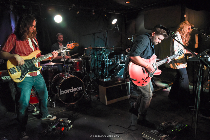 Bordeen performing at Hard Luck Bar in Toronto on March 29, 2016