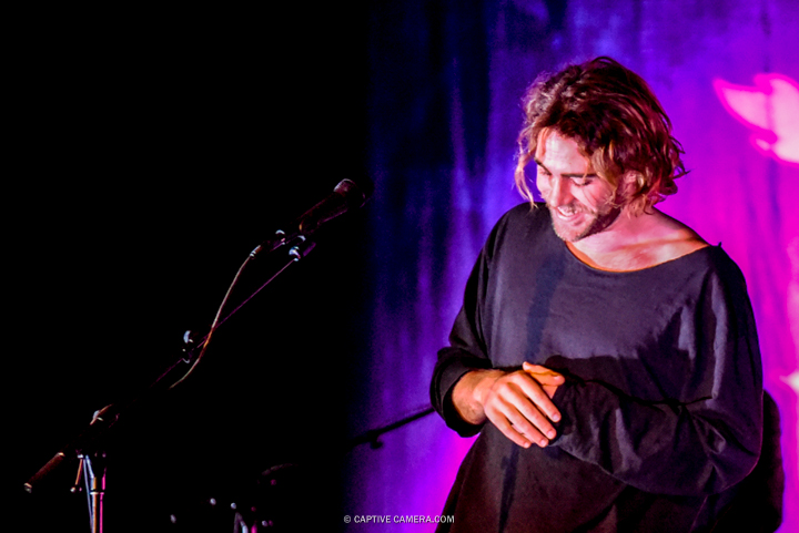 Matt Corby performing at Massey Hall in Toronto on June 18, 2016