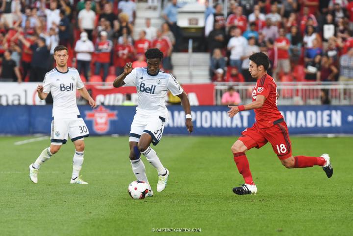 June 21, 2016 (Toronto) - Vancouver Whitecaps FC vs Toronto FC a