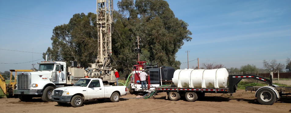 Water Well Drilling Operation