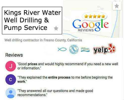 A  TOP Well Drilling and Pump Contractor . We have been interviewed and vetted which included a complete check of our license, quality of work, insurance, and customer satisfaction.
