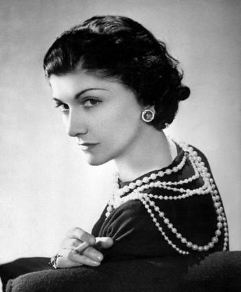 Coco Chanel circa 1936 // Photo: Roger Viollet via Vogue