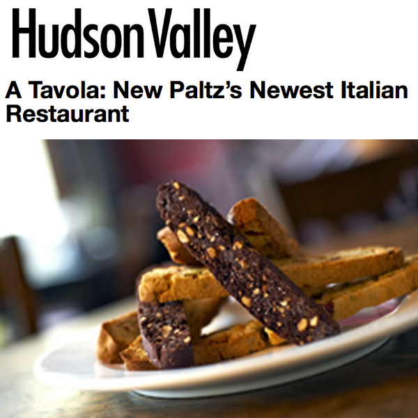 Hudson Valley Magazine Accidental Foodie Review of A Tavola