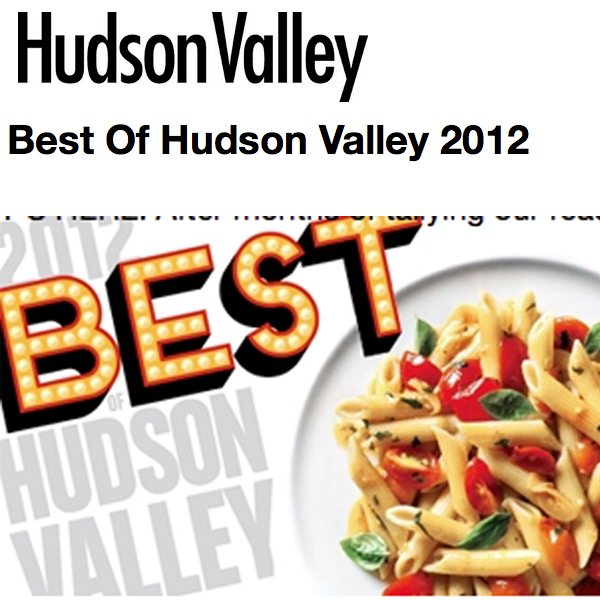 Hudson Valley Magazine Best of 2012 - A Tavola