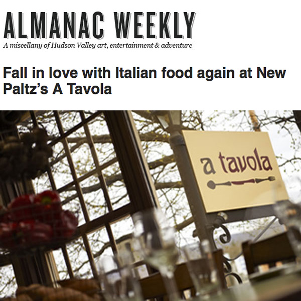 Almanac Weekly Review of A Tavola