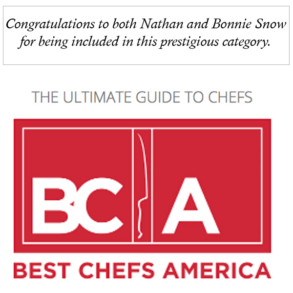 Best Chefs of America - Nathan and Bonnie Snow