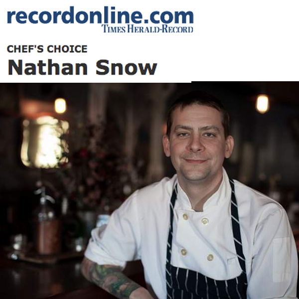 Record Online - Chef Nathan Snow of A Tavola Trattoria