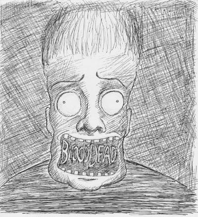 """BloodDead""  Ben Berumez , 2014."