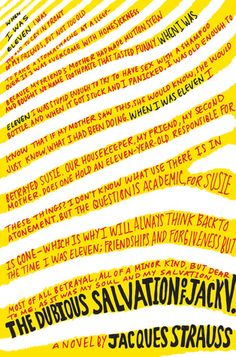 The Dubious Salvation of Jack V. designed by Jennifer Carrow