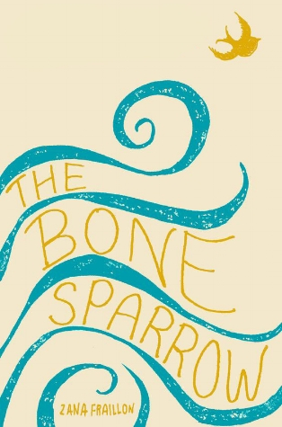 The Bone Sparrow Jacket design and illustration by Maria Elias