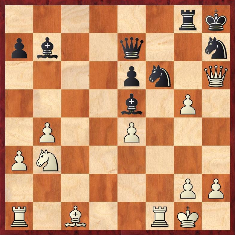 Position after sideline 24. Nb3