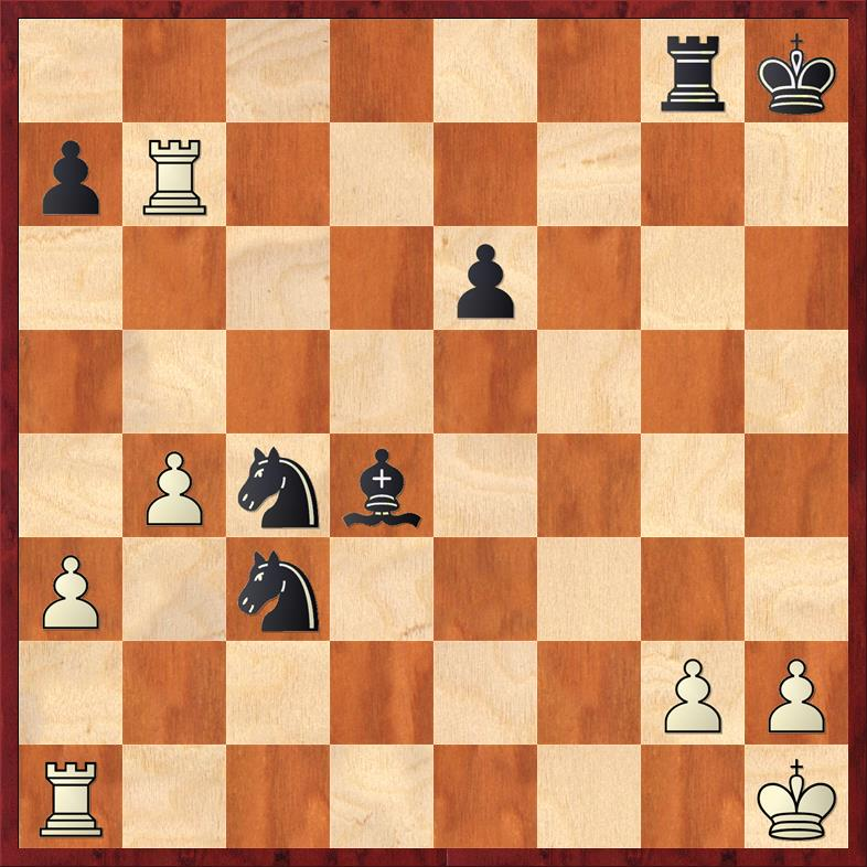 Position after 32. ... Bxd4
