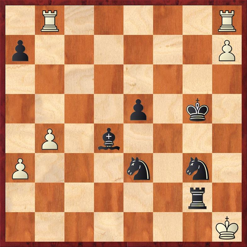 Position after continuation 47. ... Ng3#