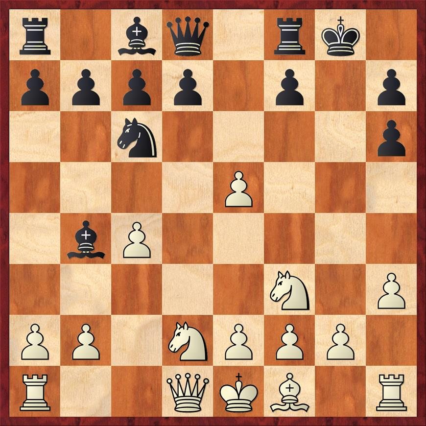 Position after 8. ... gxh6