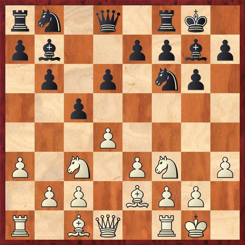 Position after 8. ... d6