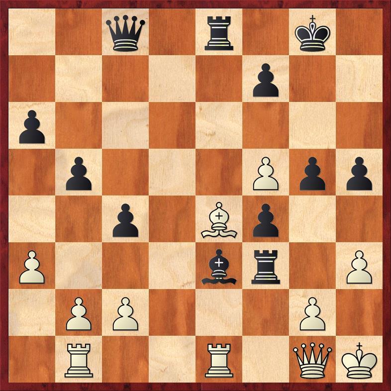 Position after sideline 33. ... Rxf3