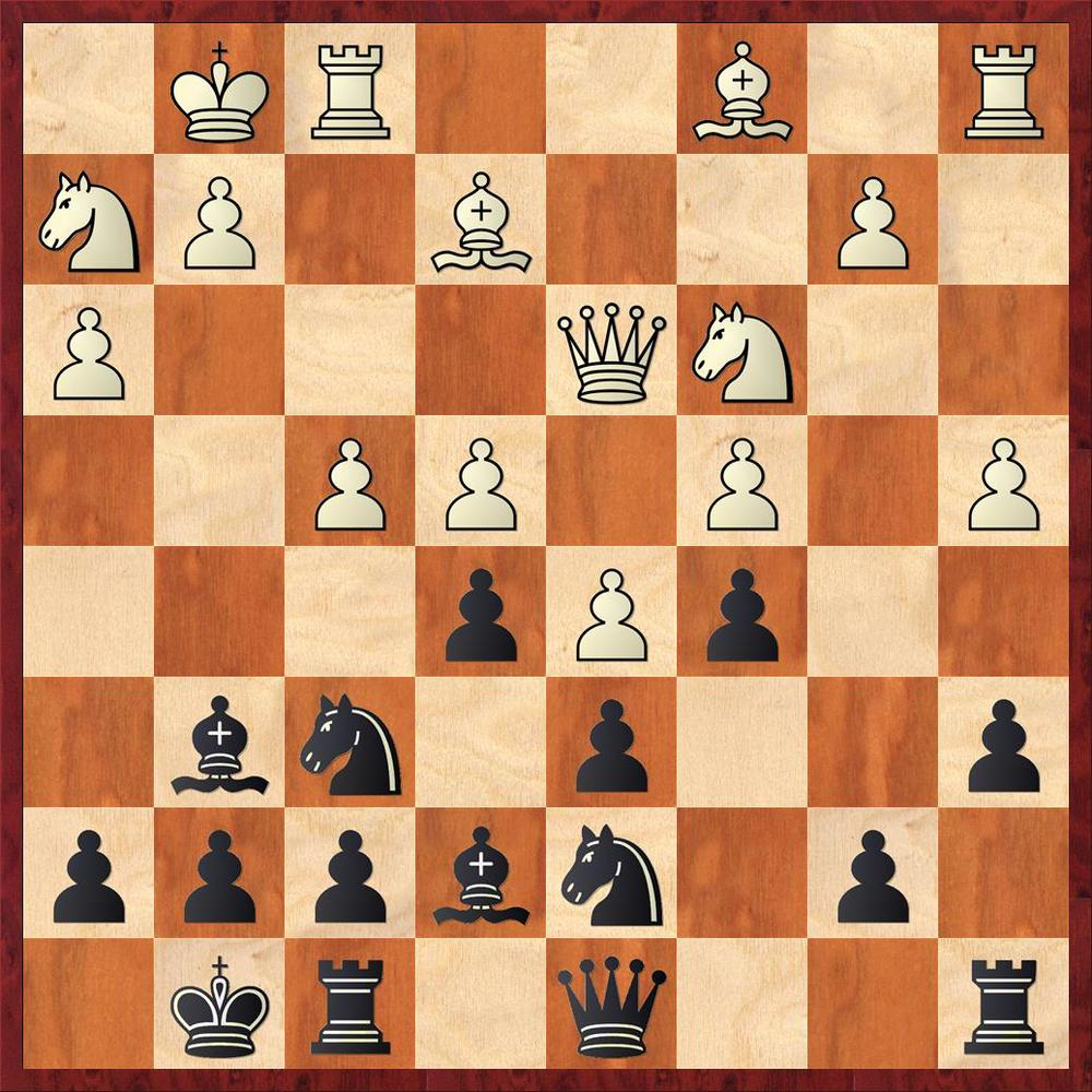 Position after 13. f4