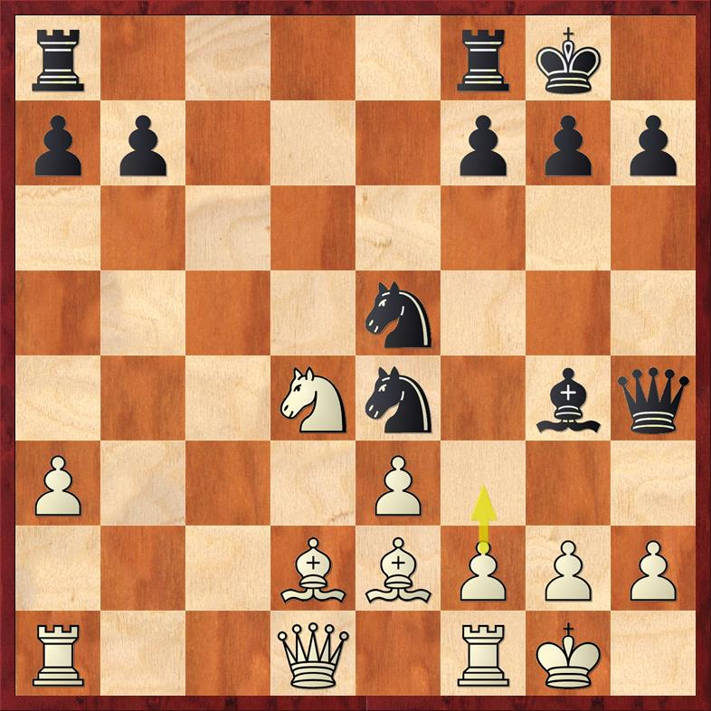 Position after 16. ... Bg4