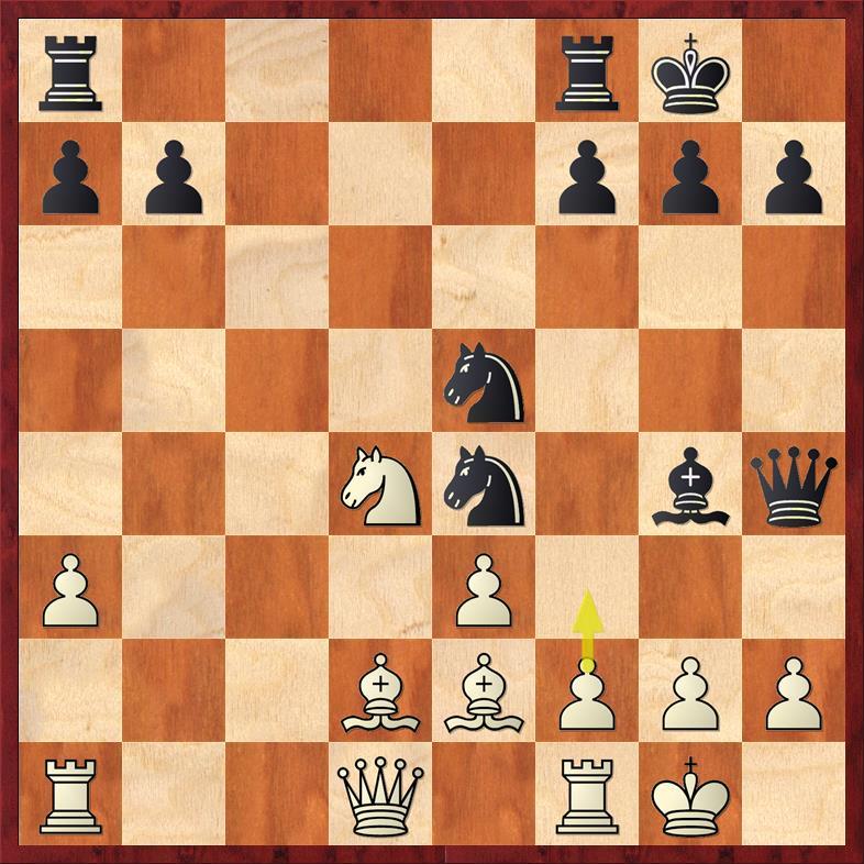 Position after 16. ... Bg4