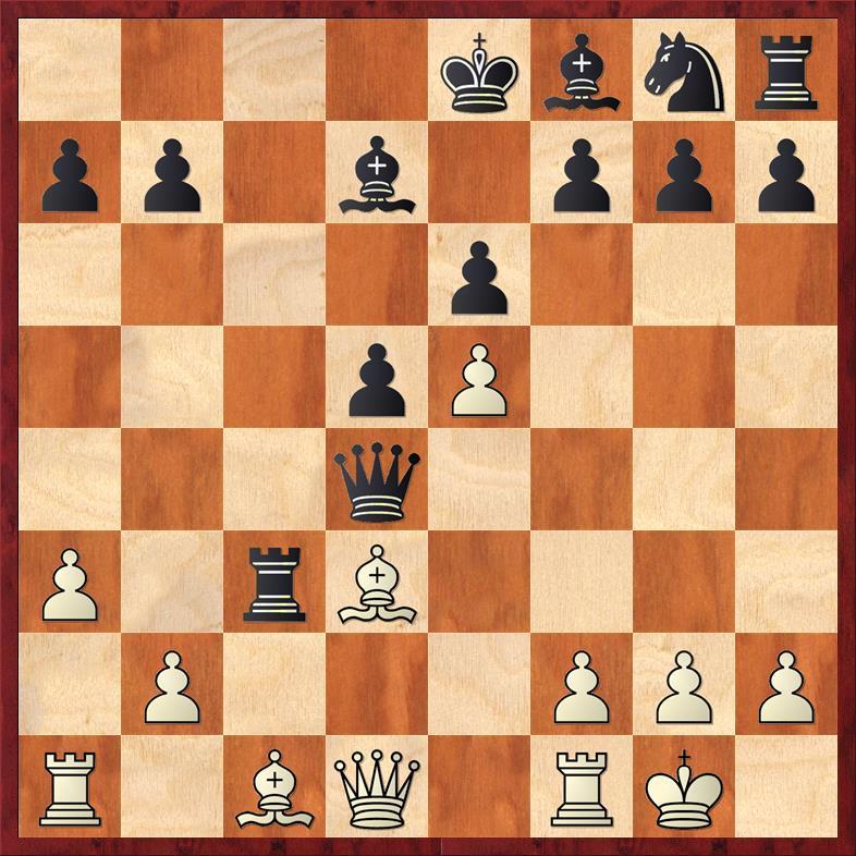 Position after 11. Rxc3