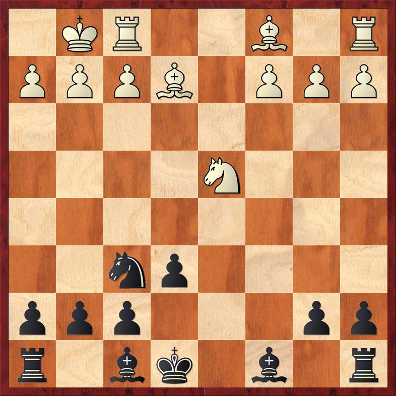 Position after 10. Nxd4