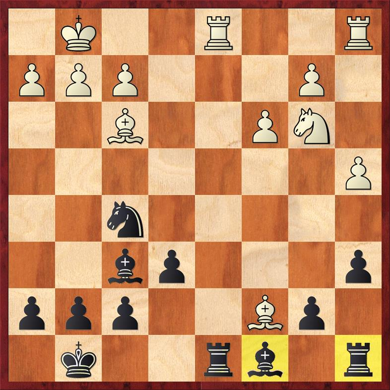 Position after 18. Bc7