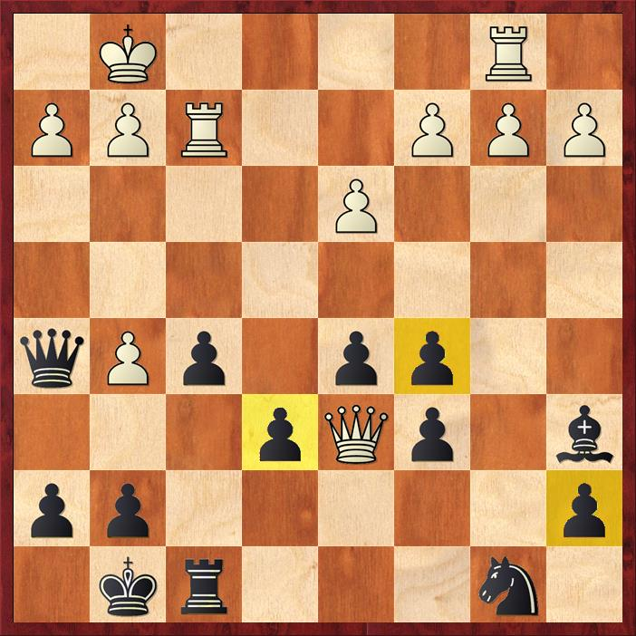 Position after 20. Qd6